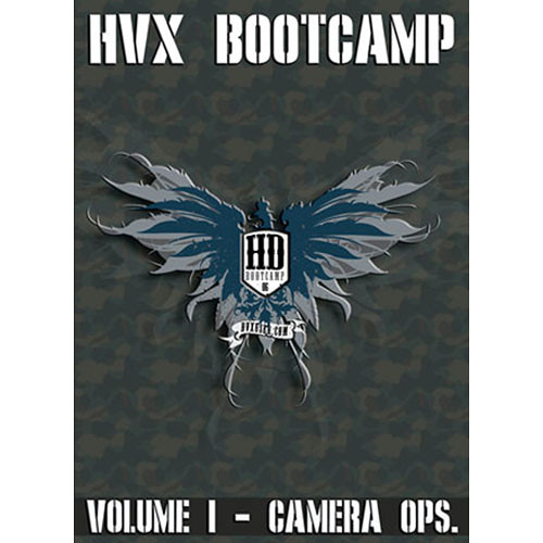 Books DVD: HVX Boot Camp: Volume I - Camera Ops