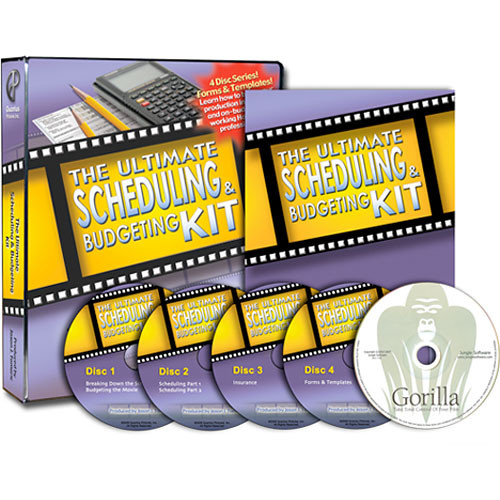 Books DVD/CD-Rom: The Ultimate Scheduling & Budgeting Kit by Jason J. Tomaric (3 Discs,1 CD-Rom)