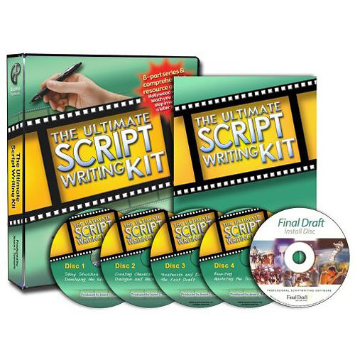 Books DVD: The Ultimate Script Writing Kit by Jason J. Tomaric (4 Discs)