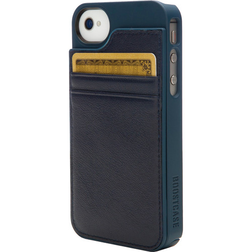 Boostcase BCHWLT-754 Hybrid Wallet / Snap-On Case (Navy)