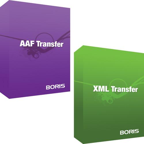 Boris FX AAF Transfer and Boris XML Transfer Bundle (Mac) (Download)