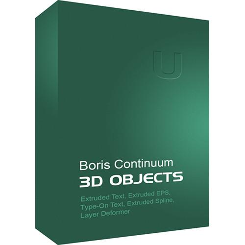 Boris FX Continuum 3D Objects (Mac)