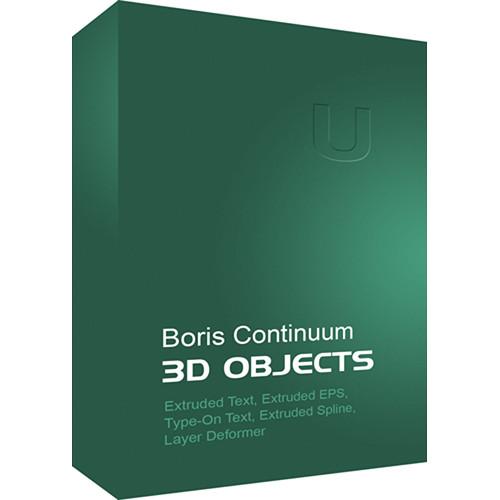 Boris FX Continuum 3D Objects (Win)