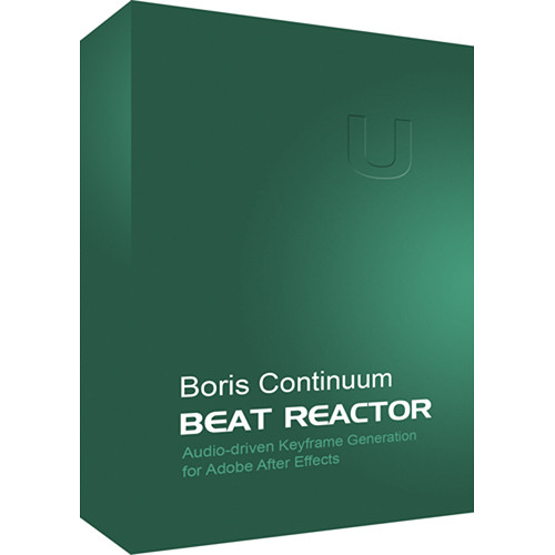 Boris FX Continuum Beat Reactor (Mac)