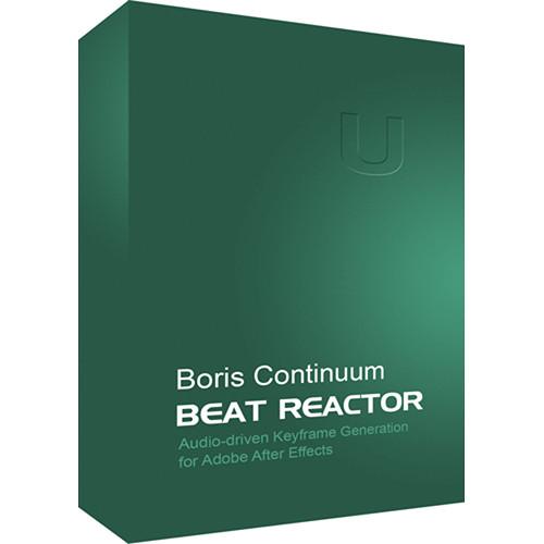 Boris FX Continuum Beat Reactor (Mac)