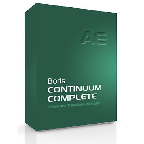 Boris FX Continuum Complete 8 AE Academic Edition for Windows