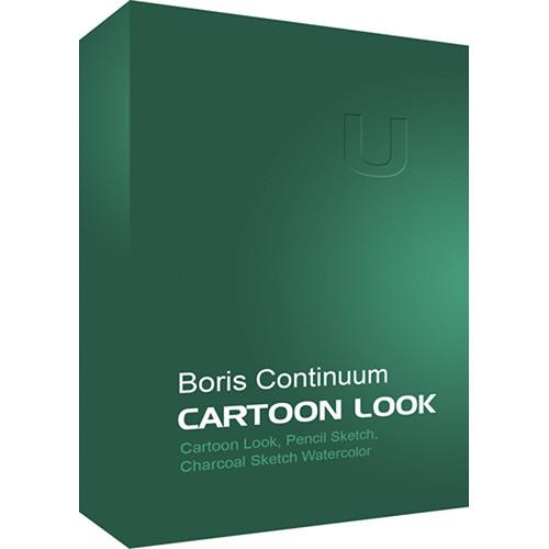 Boris FX Continuum Cartoon Look (Mac)