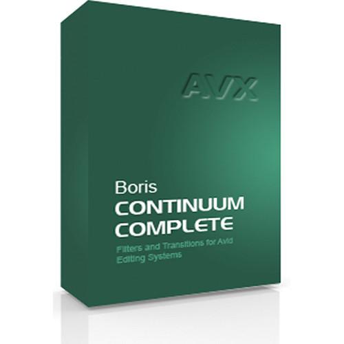Boris FX Continuum Complete 8 AVX Academic Edition for Windows