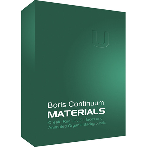 Boris FX Continuum Materials Unit (Mac)