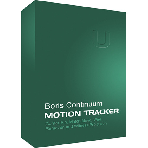 Boris FX Continuum Motion Tracker (Mac)