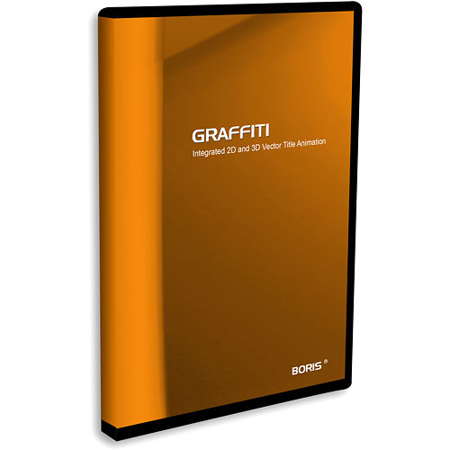 Boris FX Graffiti 5.2 Titling Software for Mac