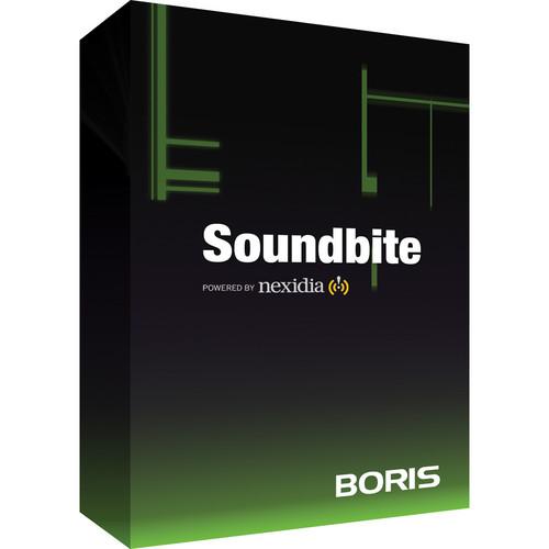 Boris FX Boris Soundbite (North American English)