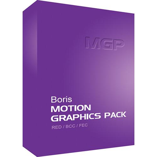 Boris FX Boris Motion Graphics Pack AE