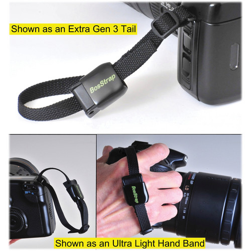 BosStrap G3 Tail/Ultra Light Hand Band (Black)