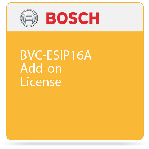 Bosch BVC-ESIP16A Add-on License