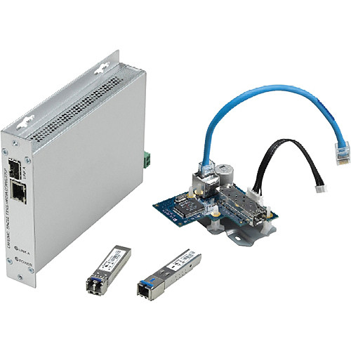Bosch Rack-mounted Ethernet Fiber-optic Media Converter