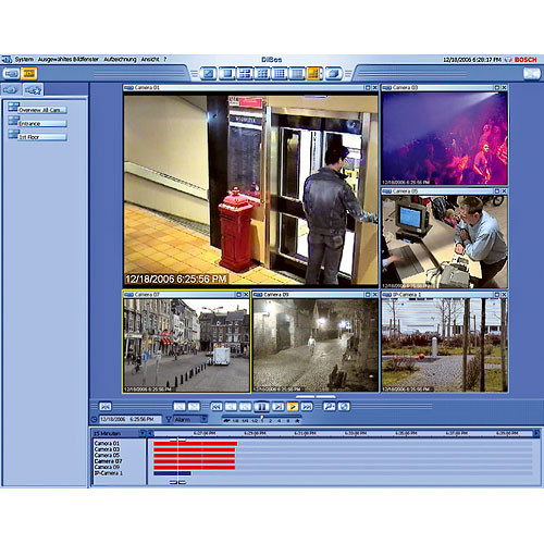 Bosch DBSE031 Software Interface to Alarm Panels for DiBos System