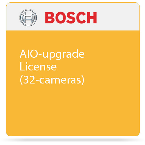 Bosch AIO-upgrade License (32-cameras)