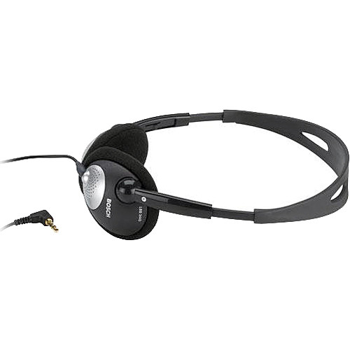 Bosch LBB 3443/10 Lightweight Stereo Headphones with Durable Cable