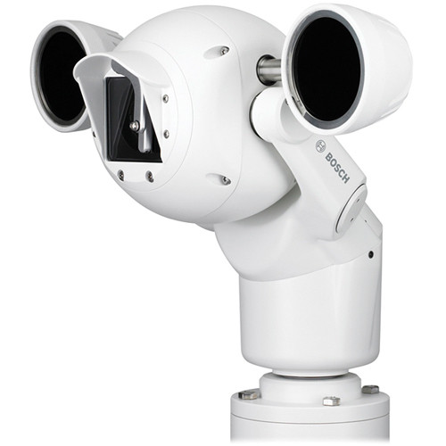 Bosch MIC 550 Outdoor Day/Night Infrared PTZ Camera (NTSC, White)