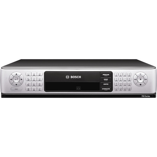 Bosch 750 Series Digital Hybrid HD Recorder (16 Channel, 4 TB, 1 Gigabit Ethernet)