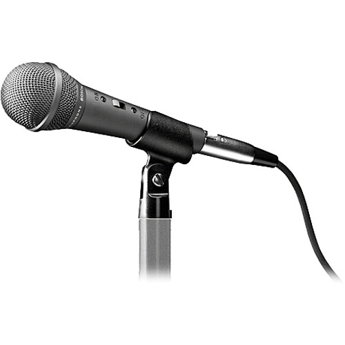 """Bosch LBC 2900/15 Handheld Cardioid Dynamic Microphone with XLR to 1/4"""" TRS Cable"""