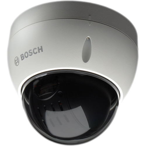 Bosch VEZ-423-EWTS Mini PTZ Vandal-Resistant Dome Camera (Tinted Bubble, White)
