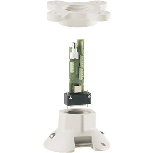 Bosch VG4-A-9543 AutoDome Modular Pipe Mount (White)