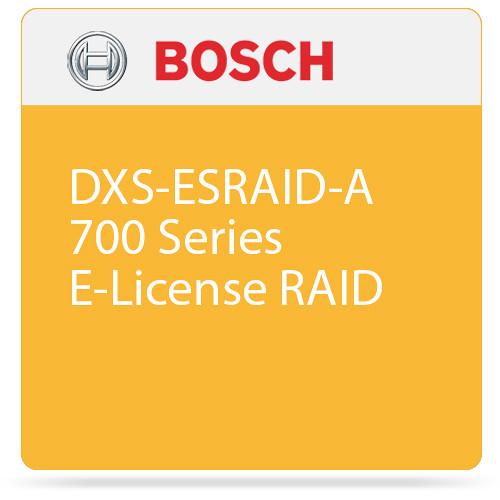 Bosch DXS-ESRAID-A 700 Series E-License RAID