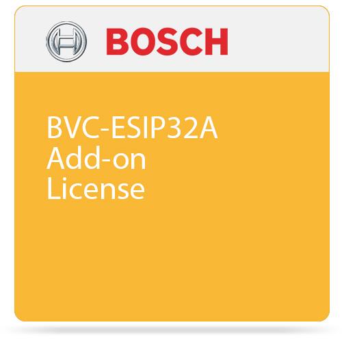 Bosch BVC-ESIP32A Add-on License