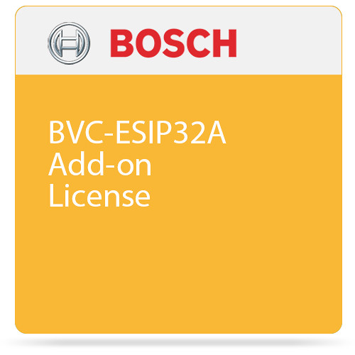 Bosch BVC-ESIP32A Add-on License