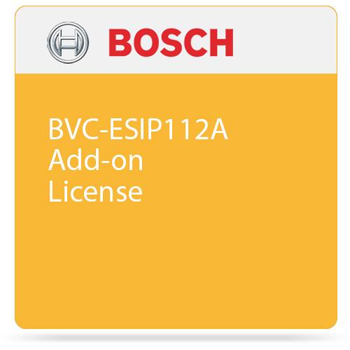 Bosch BVC-ESIP112A Add-on License