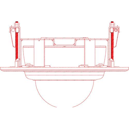 Bosch VDA-FMT-IP200 DOME Flush Mount Ceiling Kit