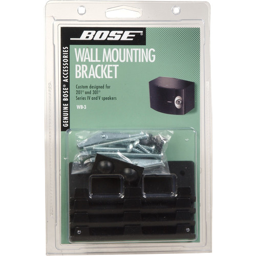 Bose WB-3 Bookshelf Speaker Wall Brackets