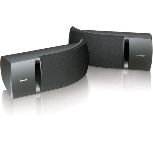 Bose 161 Full-Range Bookshelf Speakers (Black, Pair)