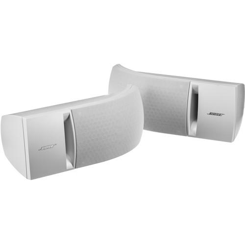 Bose 161 Full-Range Bookshelf Speakers (White, Pair)