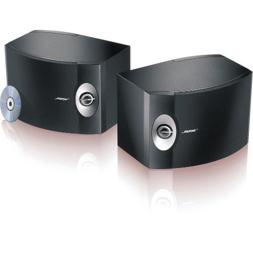 Bose 301 Series V Direct/Reflecting Bookshelf Speakers (Black, Pair)