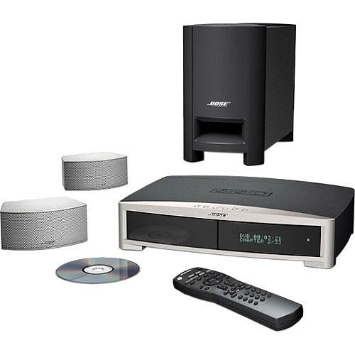 bose 3 2 1 gs series ii home theater system silver 34125 b h. Black Bedroom Furniture Sets. Home Design Ideas