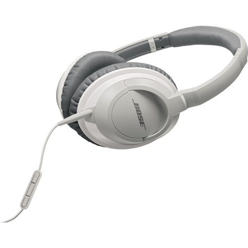 Bose AE2i Around-Ear Audio Headphones with Mic and Remote (White)