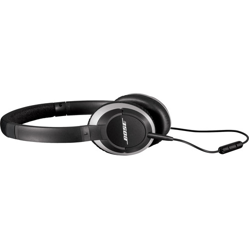 Bose OE2i On-Ear Audio Headphones with Mic and Remote (Black)