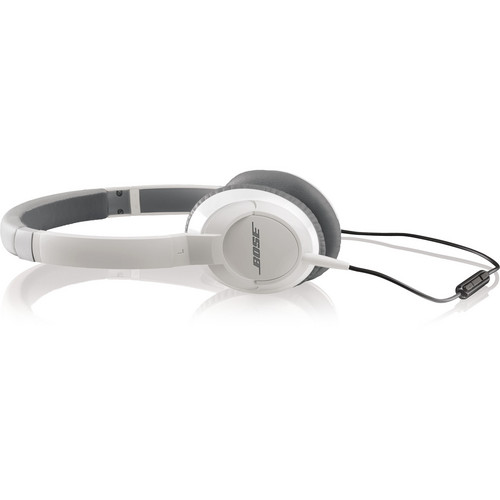 Bose OE2i On-Ear Audio Headphones with Mic and Remote (White)