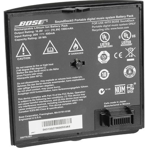 Bose SoundDock Portable Lithium-Ion Rechargeable Battery (Black)