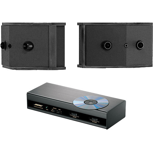 Bose 901 Series VI Direct/Reflecting Speakers (Black) & Active Equalizer Version 2 (110V) Kit