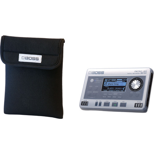 BOSS BA-BR80S Silicone Case/Pouch Set for BR-80