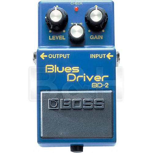 BOSS BD-2 Blues Driver Stompbox Pedal
