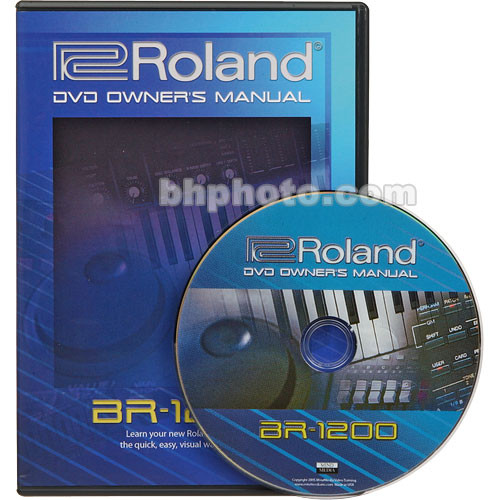 BOSS DVD: Owner's Manual ONLY for Boss BR-1200CD