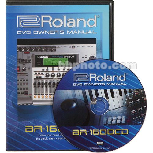 BOSS CD-Rom: Manual BR-1600CD - Desktop Digital Workstation Recorder