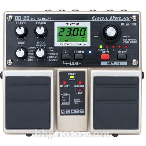 BOSS DD-20 - Digital Delay Pedal