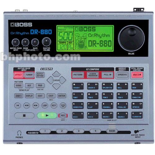 BOSS DR-880 Dr. Rhythm - Drum Machine