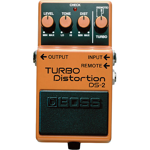 BOSS DS-2 - Turbo Distortion Guitar Pedal